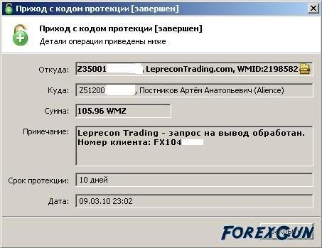 Instaforex trading