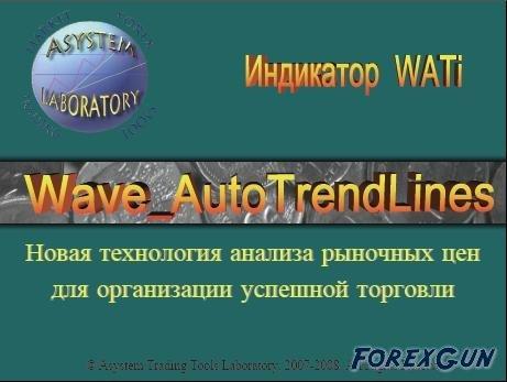 Форекс индикатор Wave AutoTrendLines – инструмент анализа нового поколения!