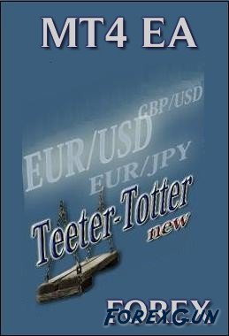 Forex советник Teeter-Totter — торговый принцип Мартингейла.