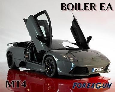 """FOREX сотвеник """"Boiler EA"""" - заточен по методу Ганна!"""